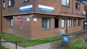 External view of Amersham Health Centre