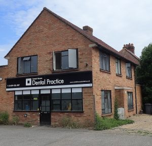 External view of Sands House Dental Practice