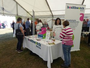 Our stand at the County Show 2018