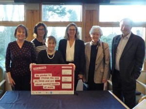 Board with Time to Change Pledge